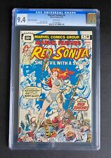Marvel Feature #4 30 Cent Price Variant CGC 9.4 White Pages Red Sonja