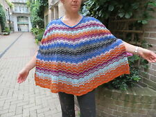 BNWT/MISSONI/ multicolored/freesize/PONCHO/WRAP/CAPELET/summer/spring/autumn
