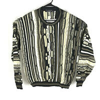 Vintage Protege Collection Cosby Coogi Style Biggie Smalls 3D Sweater XXL Mens