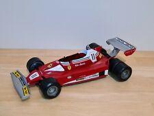 Ferrari 1/16 (no 1/18) F1 Polistil 312T2 Test 6 roues Niki Lauda World Champion