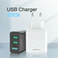 Dual USB Charger for Phone iPad 5V 2.4A Fast Charging Phone Wall Charger EU Plug