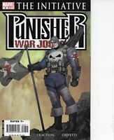 PUNISHER WAR JOURNAL #9 THE INITIATIVE MARVEL COMICS 2007, FRACTION