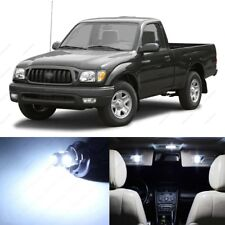 9 x White LED Interior Lights Package For 1995 - 2004 Toyota Tacoma + PRY TOOL