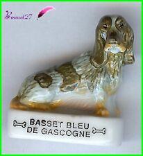 """Feve Les Races de Chien Dog Edition Atlas """" Le Basset Bleu de Gascogne """"  #A33"""