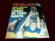 BOCA JUNIORS 1977 Intercontinental Champion vs BORUSSIA - Magazine