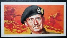 Field Marshal Montgomery of Alamein   Illustrated Card # VGC