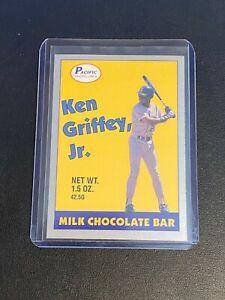 1989 Pacific Milk Chocolate Bar Promos Ken Griffey Jr (Yellow) Rookie HOF