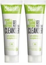 2 x Avon Clearskin Pore & Shine Control Gel Cleanser Set of 2 125 ml each New