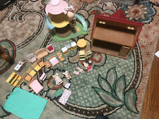 Calico Critters Lot House Nursery with Lights, Animals, Furniture, Accessories
