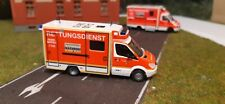 Rtw 1:87,Feuerwehr Düsseldorf,H0 Einsatzfahrzeug, Herpa 1:87,Modellauto,(008)