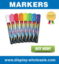 8 color Liquid Chalk glass neon marker (Small) for fluorescent maker board