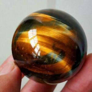 100% Natural Rare Tiger Eye Crystal Ball Gemstone Sphere Stone   Healing
