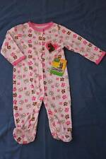 NEW Baby Girls Bodysuit 0 - 3 Mos Footed Sleeper Outfit PJs Pink Scooby Doo Dog
