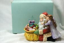 Party Lite Jolly Santa #P8569 Tea Lite Holder
