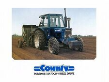 COUNTY TRACTOR 6600-FOUR 7600-FOUR Operations Maintenance Repair & Parts Manuals