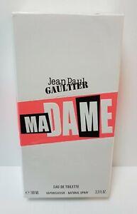 JEAN PAUL GAULTIER MADAME Eau de Toilette 100ml SPRAY ( SEALED BOXED as seen ) *