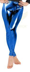 NEW BEST UK WET LOOK METALLIC LEGGINGS FOR LADIES AND WOMEN FOIL SHINY LEGGINGS