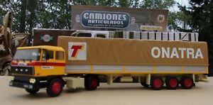 n° 49 DAF 2800  Camion Semi Remorque Transports ONATRA VITROLLES 13 1/43 Neuf