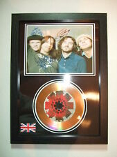 RED HOT CHILI PEPPERS   SIGNED  GOLD  DISC  Y8