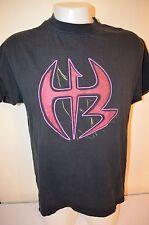 CATCH WWE T-shirt Jeff HARDY BOYZ XTREME Logo Taille XL