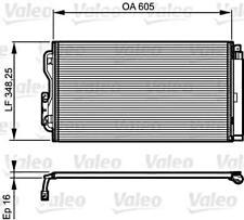 VALEO Kondensator Klimaanlage für BMW I3 I8 F80 F31 F30 F21 F20 64509218121