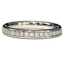 Excellent Cut Round Eternity I1 Fine Diamond Rings