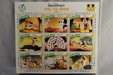 Walt Disney Mickey Mouse Thru The Mirror +2 More St. Vincent 1992 MNH With COA