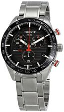 T100.417.11.051.01 Tissot PRS 516 Chronograph Stainless Steel Mens Swiss Watch