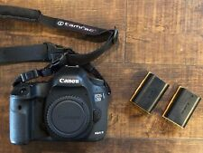 Canon EOS 5D Mark III 22.3MP Digital SLR Camera - with Batteries