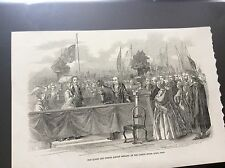 m4-8 ephemera 1849 picture queen victoria cork custom house quay