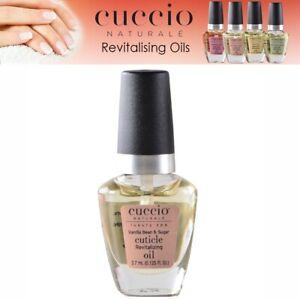 Cuccio Cuticle Oil Revitalising Mini Vanilla Bean & Sugar Manicure Nail