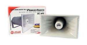 Nippon America PA Power Horn Speaker 50W RMS Indoor Outdoor 100 Watt Max Power