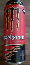 1 Volle Energy drink Dose Monster 44 Lewis Hamilton​ F1 NEW Can Coca Cola FULL