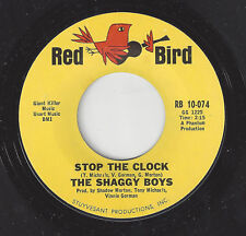 ♫SHAGGY BOYS Stop The Clock/In The Morning Red Bird 10-074 GARAGE  ROCK 45RPM♫