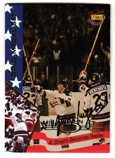 1980 USA OLYMPIC TEAM DOCTOR Dr. Nagobads SIGNED HOCKEY CARD AUTOGRAPHED