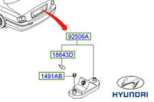 Genuine Hyundai Sonata Number Plate Light - 925013D000