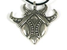 Celtic Raven Pewter Pendant, Norse,Odin, prophecy & magical knowledge