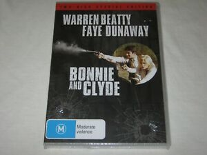 Bonnie And Clyde - 2 Disc Special Edition - Brand New & Sealed - Region 4 - DVD