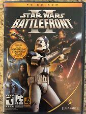 Star Wars: Battlefront II (2) Retro PC Game  VTG (2005 Video Game)
