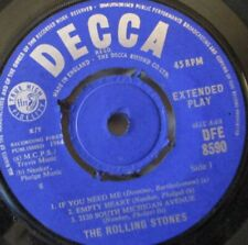 """ROLLING STONES - Five By Five EP ~ 7"""" Single"""