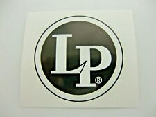LP LATIN PERCUSSION DRUMMER DECAL STICKER NICE NEW VERY RARE DECAL BUMPER