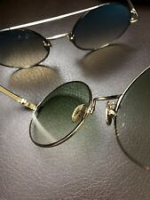 British Luxury CUTLER & GROSS 53mm Polarized Round Sunglasses 2 colors MSRP$460