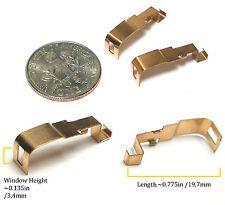 2pc TYCO 440-X2 Slot Car PICK UP SHOES Factory Original Parts Unused Short Drop