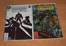 DC Comics Challengers of the Unknown 1997 1 & 2