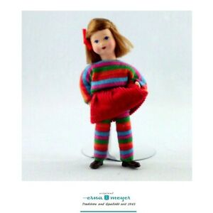1:12 dollhouse doll from Erna Meyer, Germany