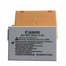 Genuine Canon LP-E8 Li-ion Battery Pack for EOS 550D 700D Kiss X5 Rebel T3i T2i