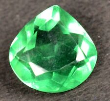 6.15 Ct Most Beautiful Rare Green Emerald Pear  Loose Gemstone Certified A1264