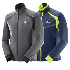 Salomon RS Warm Softshell Jacket Herren-Funktionsjacke Trainingsjacke Mid Layer