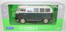 Welly NEX 1/24 Scale 22095W - 1962 Volkswagen VW Classics Bus Green