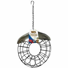 Kingfisher Deluxe Metal Donut Suet Fat Ball Feeder